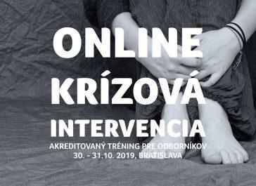 Online krízová intervencia – akreditovaný tréning pre odborníkov