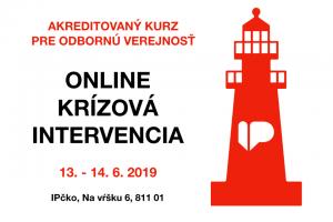 Online krízová intervencia – akreditovaný kurz