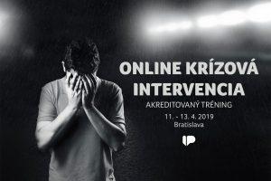 Online krízová intervencia – akreditovaný tréning pre verejnosť