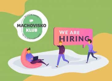 Poď pomáhať mladým ľuďom v kríze do KLUBU MACHOVISKO