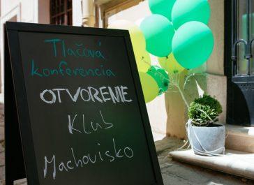 Ako sme 10. júna 2021 otvorili v Bratislave Klub Machovisko