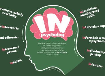 """""""IN"""" psychológ – hľadáme nových kolegov na krízové linky pomoci"""